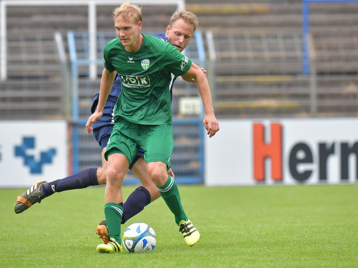 Erstes FCG-Pflichtspiel im Westfalen-Pokal