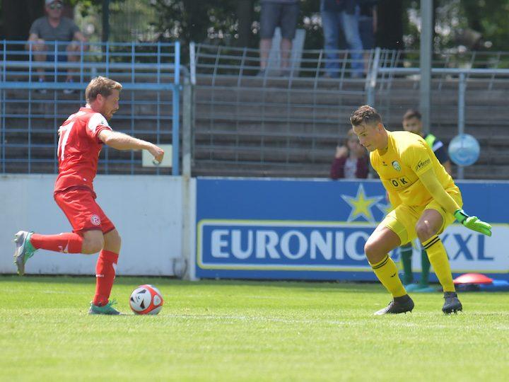 FC Gütersloh gegen SV Spexard am Montagabend