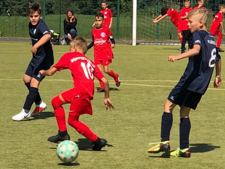 9:2-Torfestival der E2-Junioren gegen Kaunitz