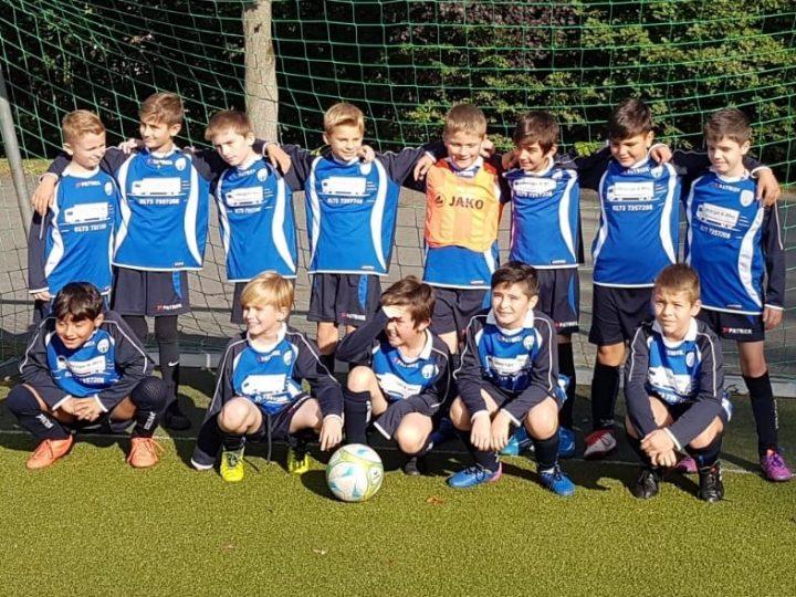 Vier Siege für die E-Junioren-Teams des FCG