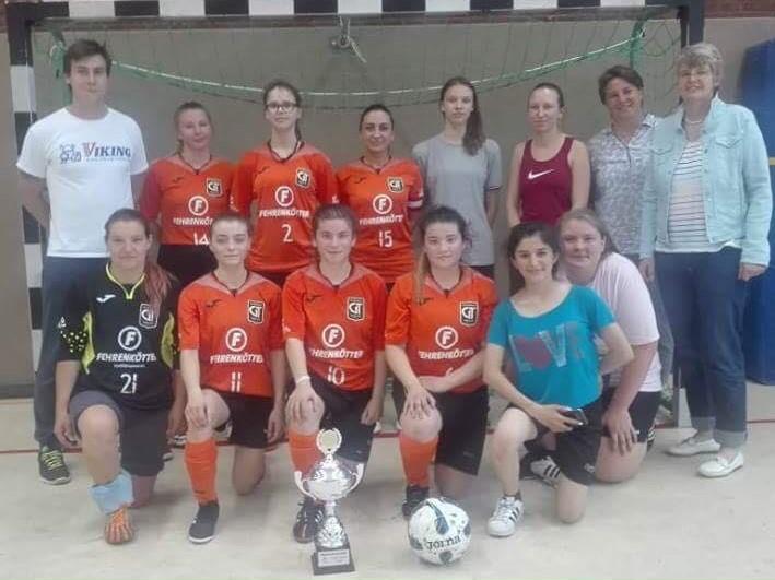 FCG-Premiere der Futsal-Frauen gegen Fortuna Düsseldorf