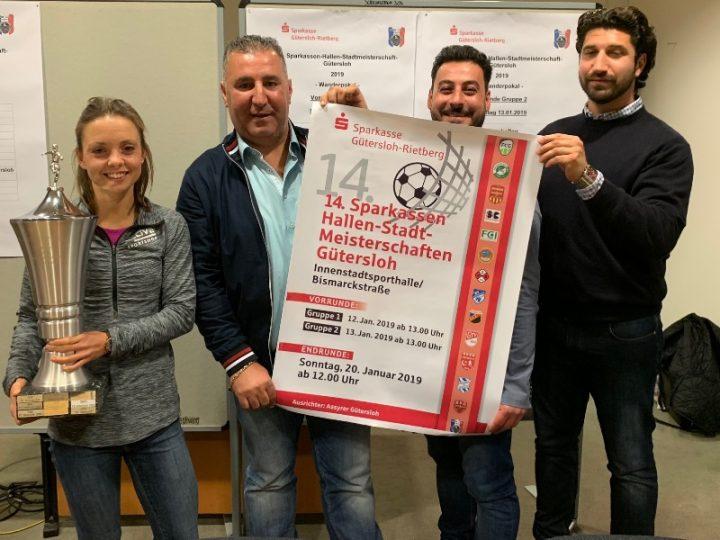 FC Gütersloh bei der 14. Sparkassen-Hallen-Stadtmeisterschaft