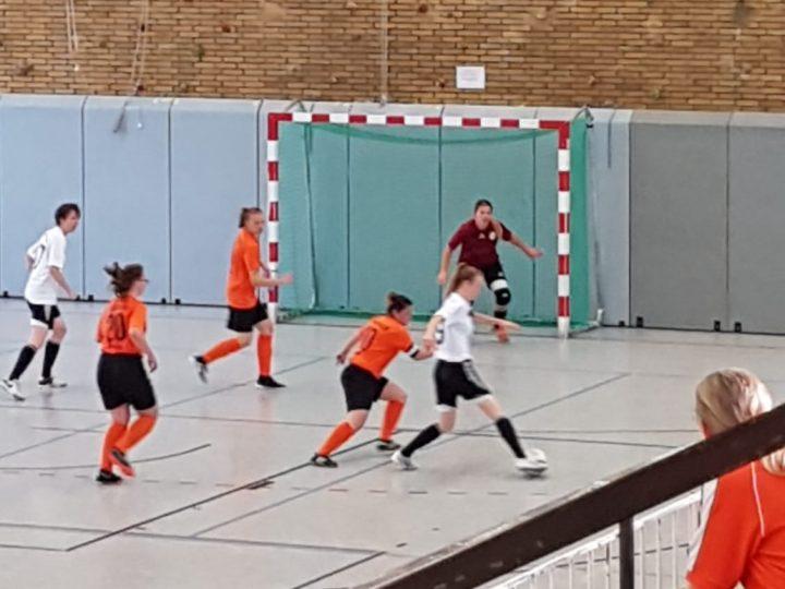 FCG-Futsalfrauen bekommen Lehrstunde