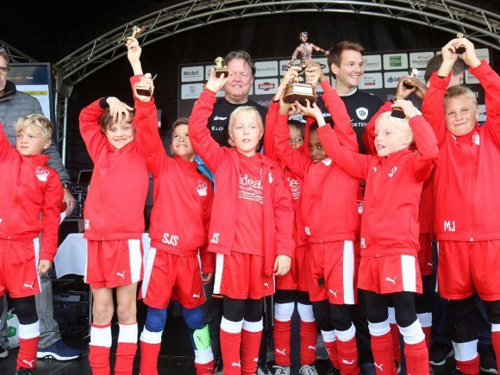 16 F-Junioren-Teams für den Kids Cup 2019 gemeldet
