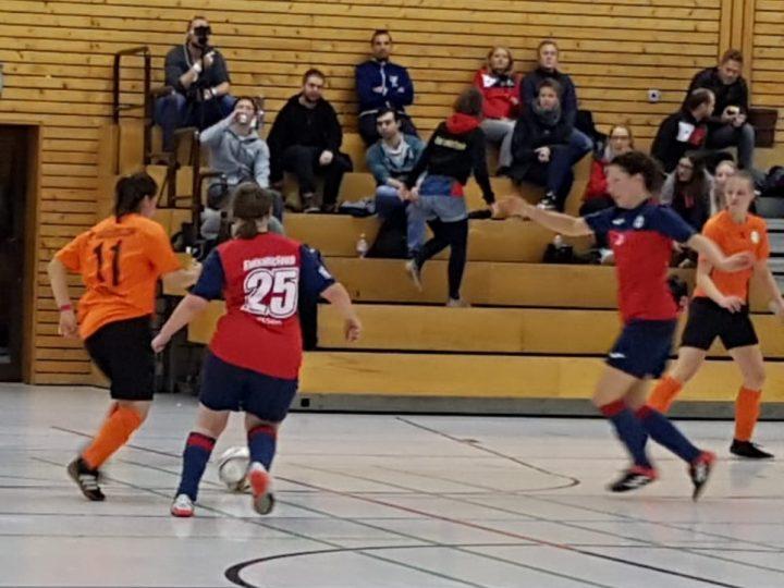 Sieben FCG-Futsalerinnen mit großem Kampfgeist