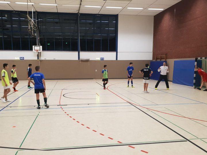 C1-Junioren mit Extra-Schichten im Futsal