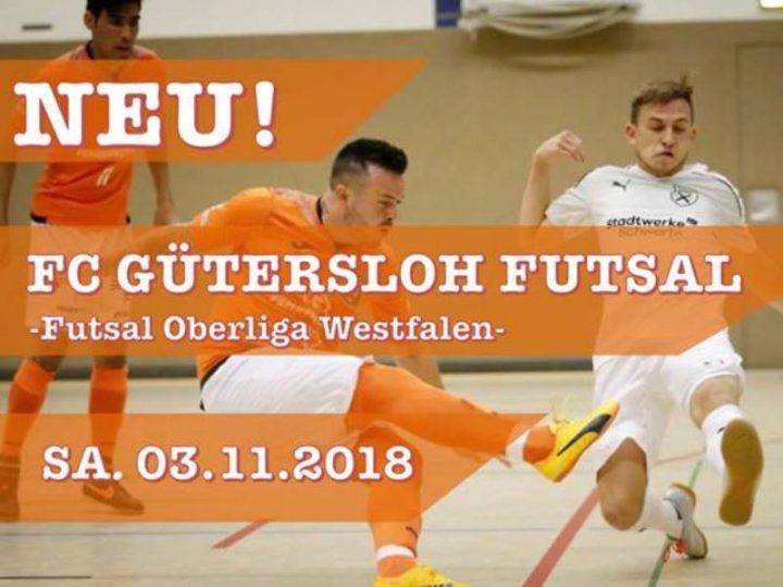 Onlineplakat für das nächste Futsal-Heimspiel