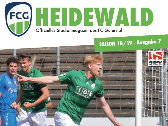 Neues Stadionmagazin für das Schalke-Spiel