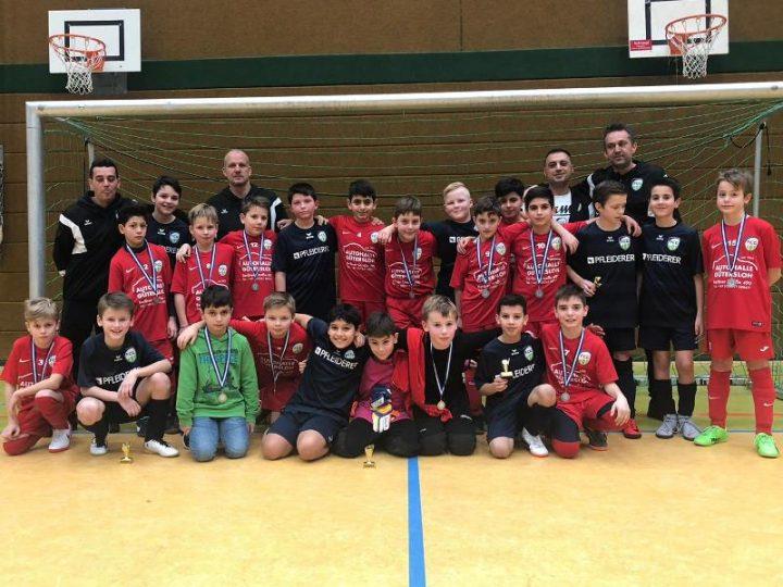 Doppelsieg der FCG-E-Junioren beim Sparkassen-Junior-Cup