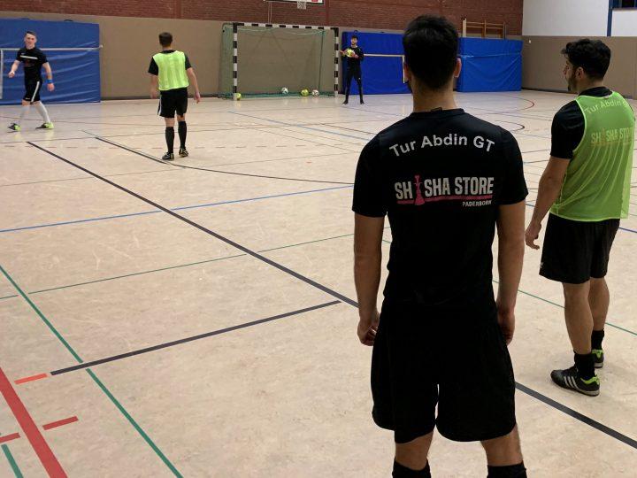 Tur Abdin Gütersloh beim Training der FCG-Futsaler