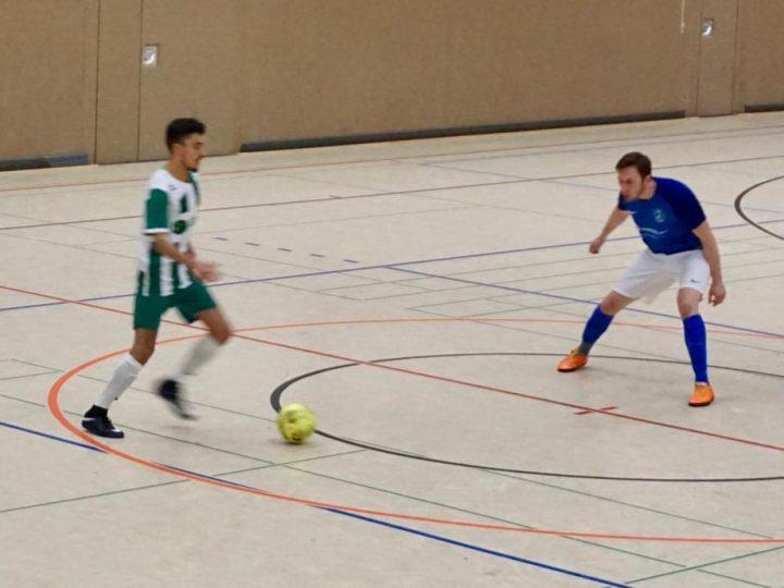 Futsal-Testspiel gegen Schwerte in der Halle Ost