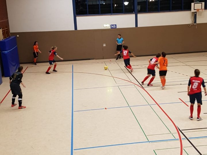 FCG-Futsalerinnen mit großem Kampfgeist