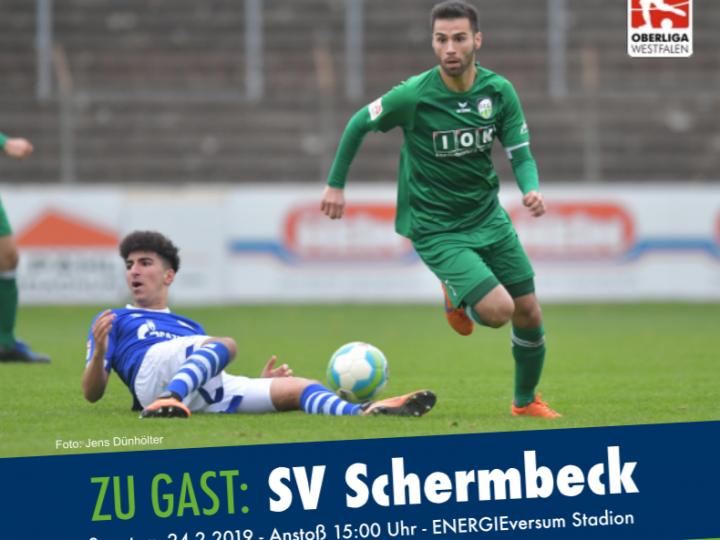 Stadionmagazin für das Schermbeck-Heimspiel