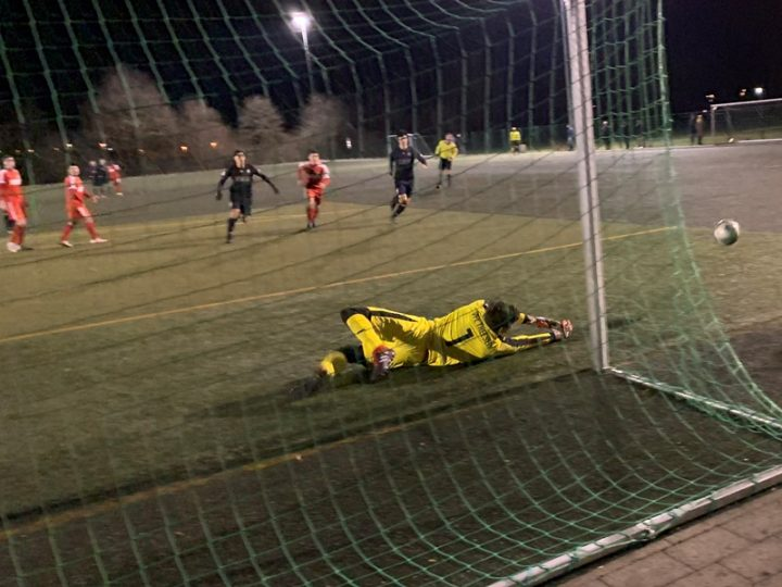2:3-Testspielniederlage gegen den VfL Theesen