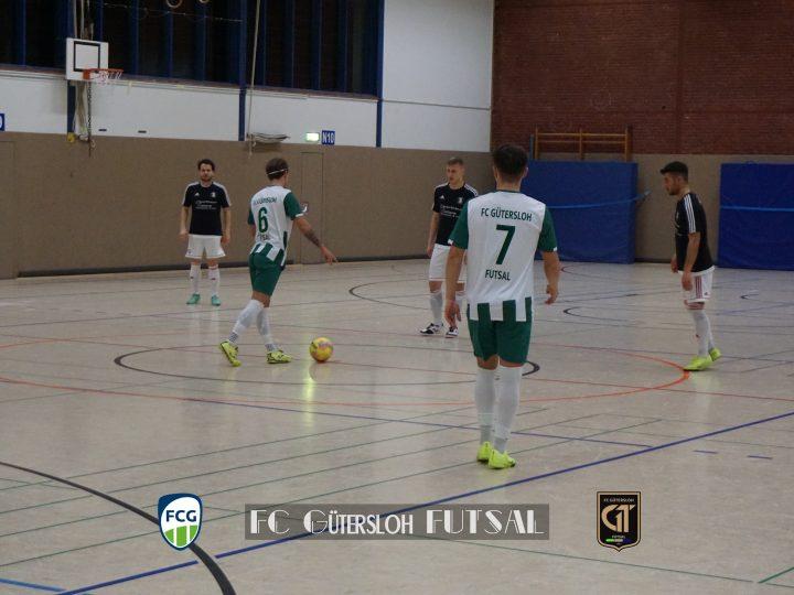 Vorbereitungsspiele der FCG-Futsaler