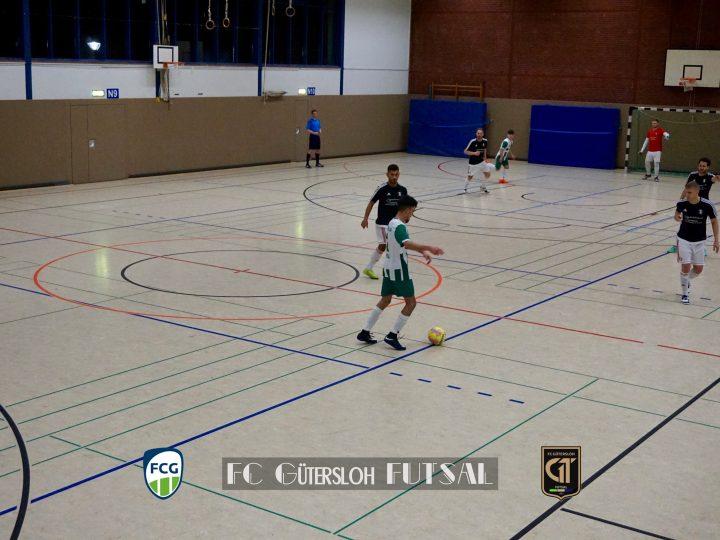 FCG-Futsaler wollen im Westfalenpokal dazulernen