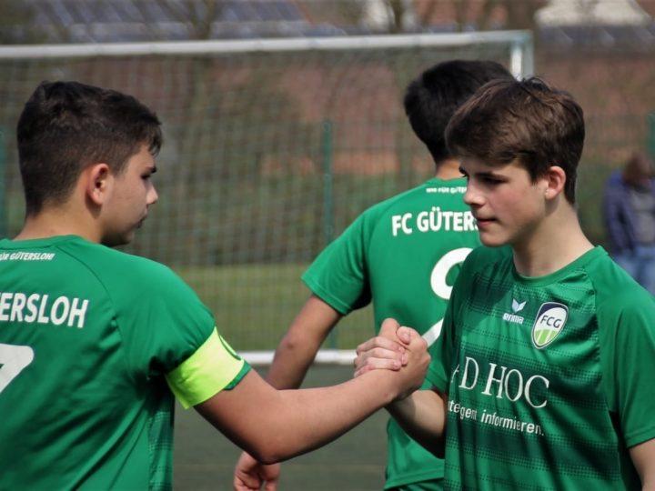 FCG-Jugendspiele: C1-Junioren erkämpfen sich 2:2 in Spexard
