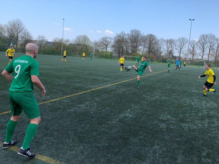 FC Gütersloh II siegt nach 0:2 noch mit 4:2