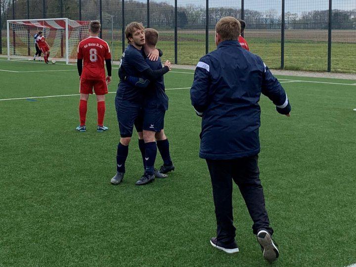 FC Gütersloh II kurz vor dem Ziel