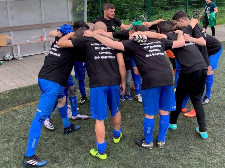 FC Gütersloh III früh gegen BW Gütersloh und TSG Harsewinkel