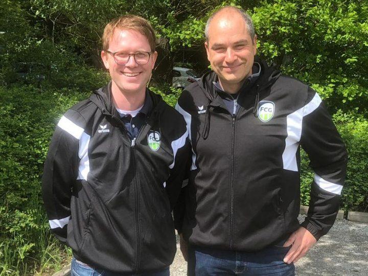 Henning Schneider unterstützt die FCG-Jugend als Torwarttrainer