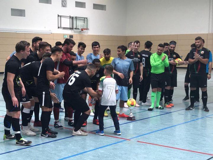 Joga Bonito gewinnt 2. FLVW Futsal Open beim FCG