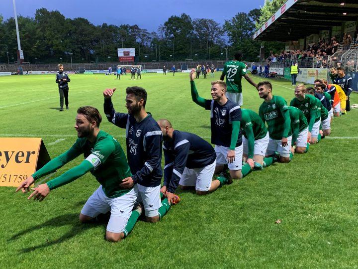 Klassenerhalt perfekt! FCG besiegt Holzwickede mit 2:0