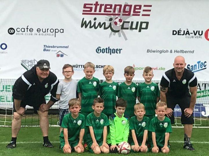 Jüngste FCG-Teams überzeugen beim Strenge-Mini-Cup