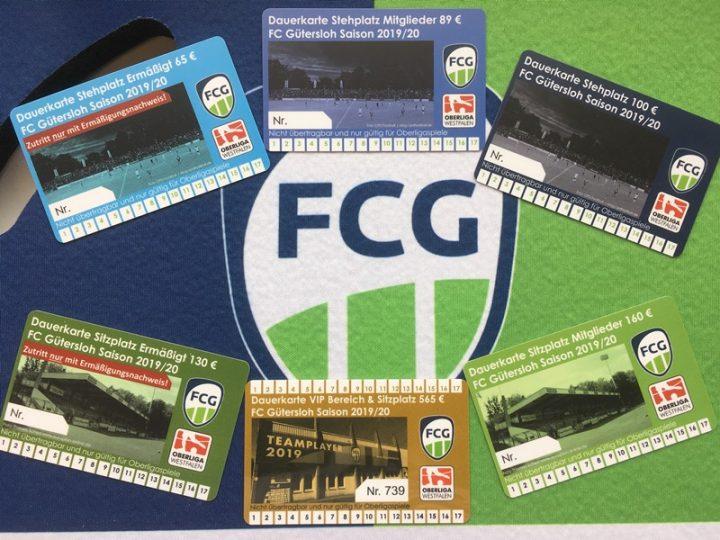 Dauerkarten gibt es bei Eusterhus und den FCG-Testspielen