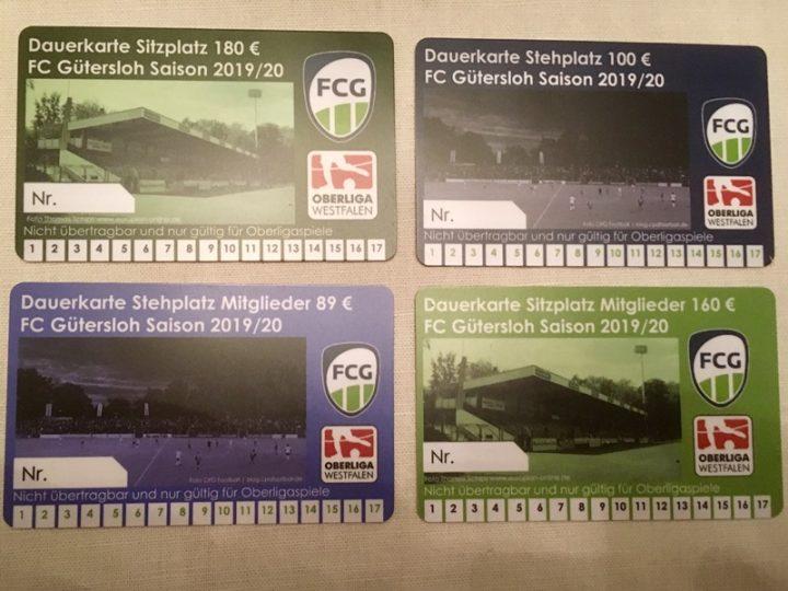 FC Gütersloh startet Dauerkartenverkauf