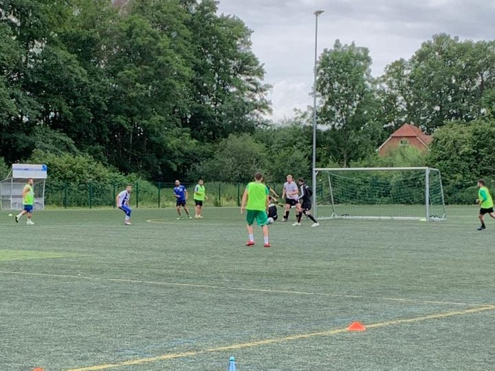 FC Gütersloh III startet mit dem Training
