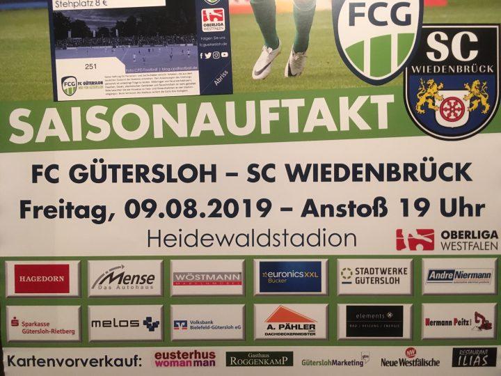 Vorverkauf für das Derby gegen Wiedenbrück startet