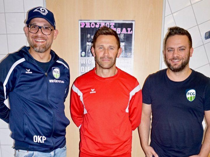 Alexander Schiller kickt bei FC Gütersloh Futsal mit