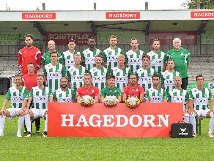 Das neue Mannschaftsfoto des FC Gütersloh