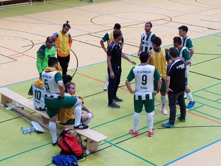 Testspiel der FCG-Futsaler abgesagt