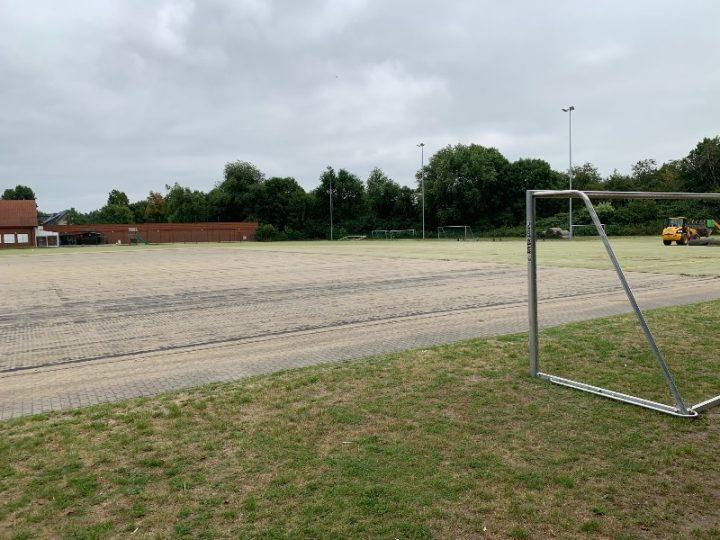 Sportplatz am Schulzentrum Süd wird fit gemacht