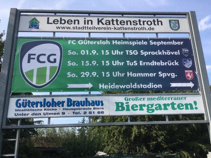 FCG-Werbeaktion für die September-Heimspiele