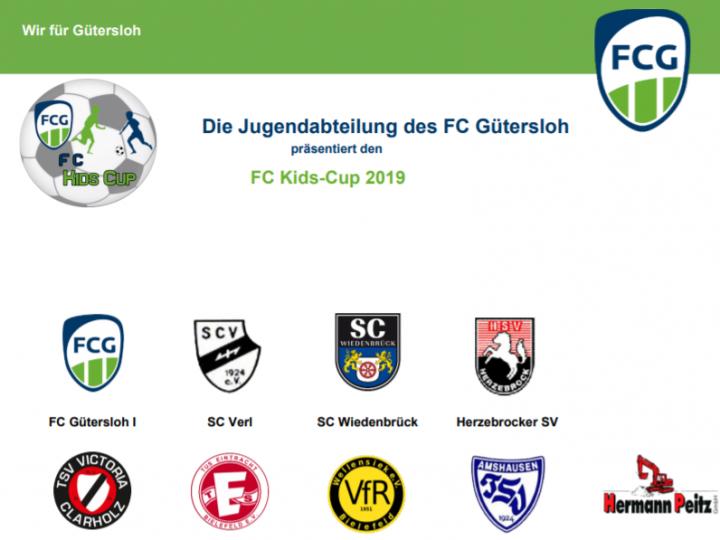 Plakat für den FC Kids Cup 2019 fertig