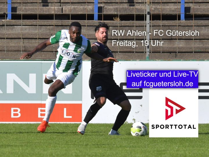 Live-TV von Sporttotal: RW Ahlen – FC Gütersloh