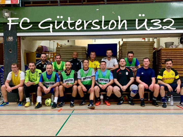 Neues Ü32-Team des FC Gütersloh startet mit 17 Spielern