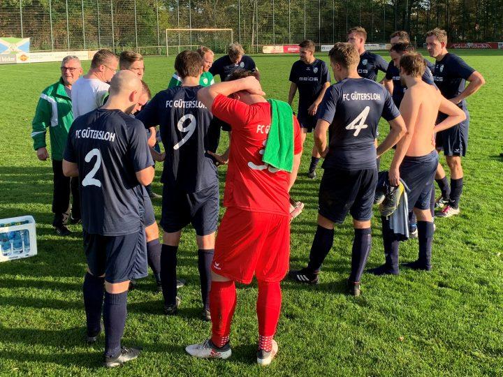 1:1 beim Tabellenführer: FC Gütersloh II hält das Aufstiegrennen spannend