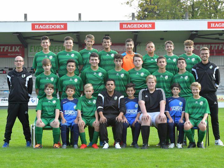 C-Junioren des FC Gütersloh vor dem Liga-Start