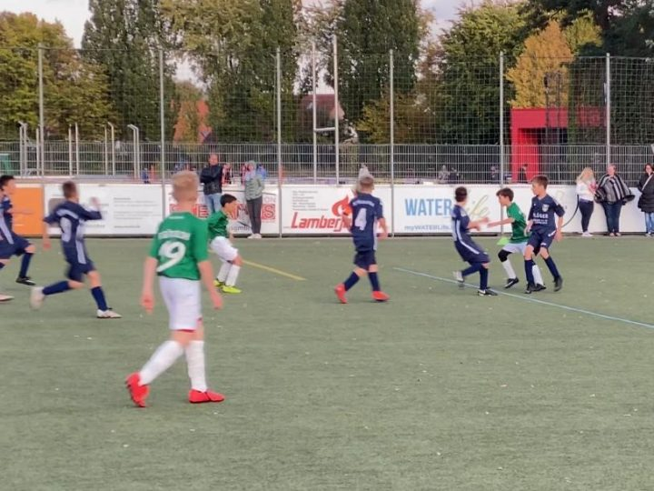 Ein Sieg und zwei Niederlagen für die D-Junioren-Teams