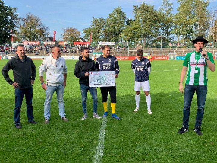"""Oberligateam unterstützt """"Aktion Möglichmacher"""" der FCG-Jugend"""