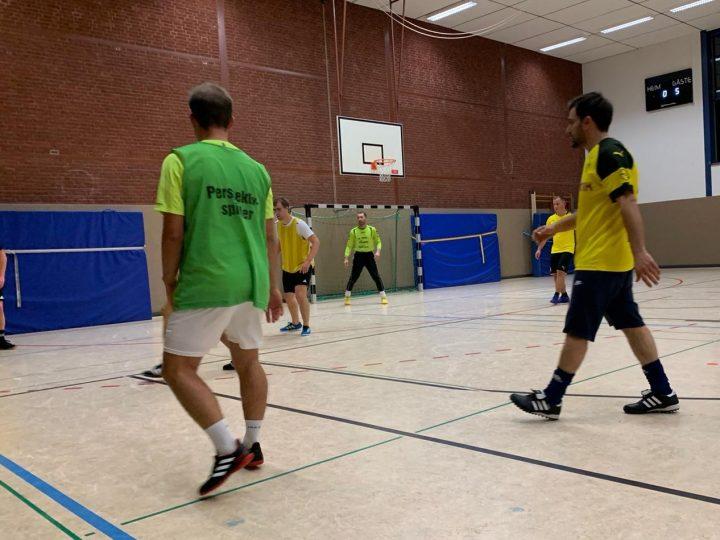 Ü32-Premiere des FC Gütersloh bei der Hallen-Stadtmeisterschaft