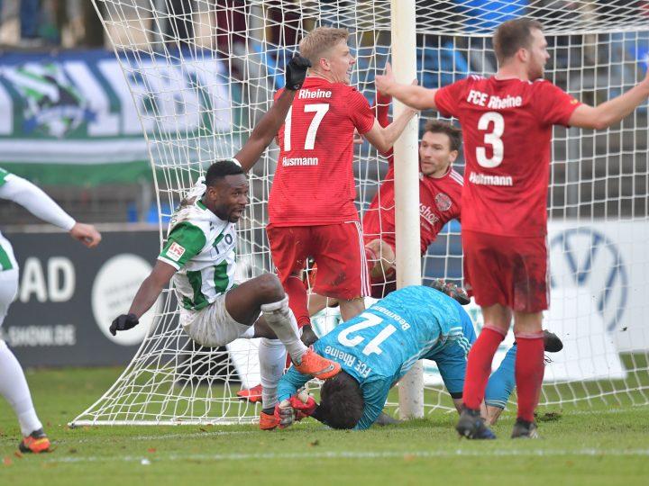 Eric Yahkem sorgt für Last-Minute-Remis gegen FC Eintracht Rheine