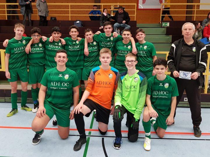 B-Junioren gewinnen Turnier des TSV Amshausen