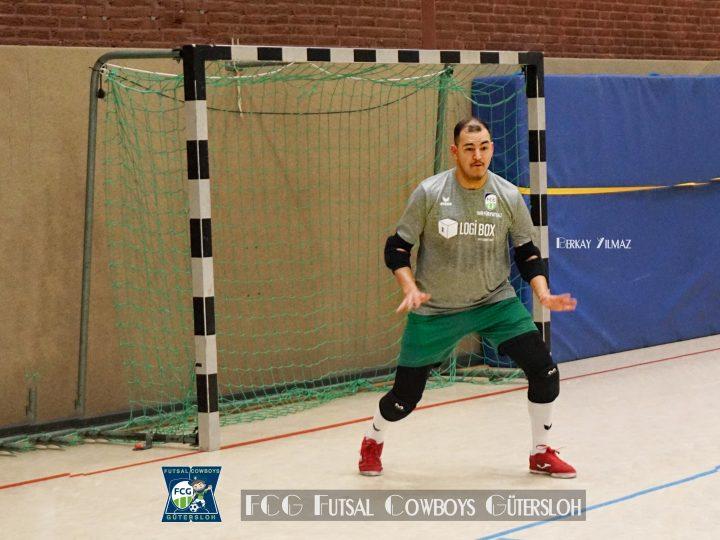 FCG Futsal Cowboys mit 4:5-Ausrutscher