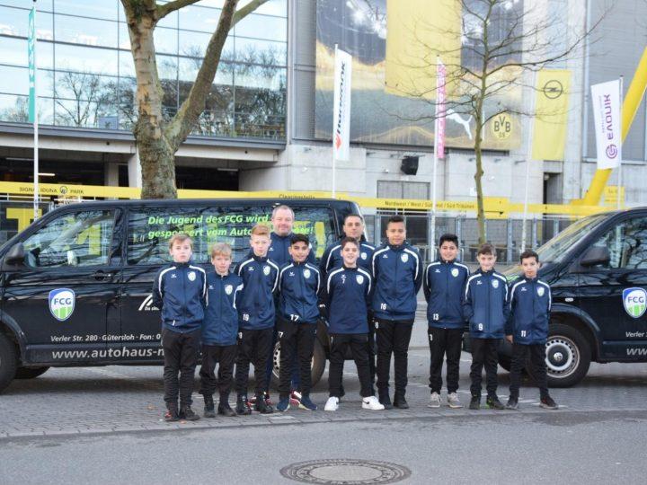 D2-Junioren besuchen Fußballmuseum und Dortmunder Weihnachtsmarkt