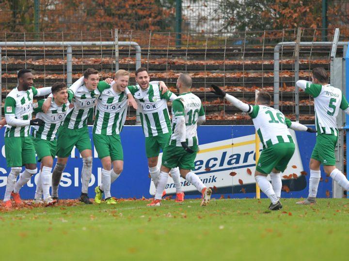 FC Gütersloh springt mit 3:0-Sieg auf Platz 4!